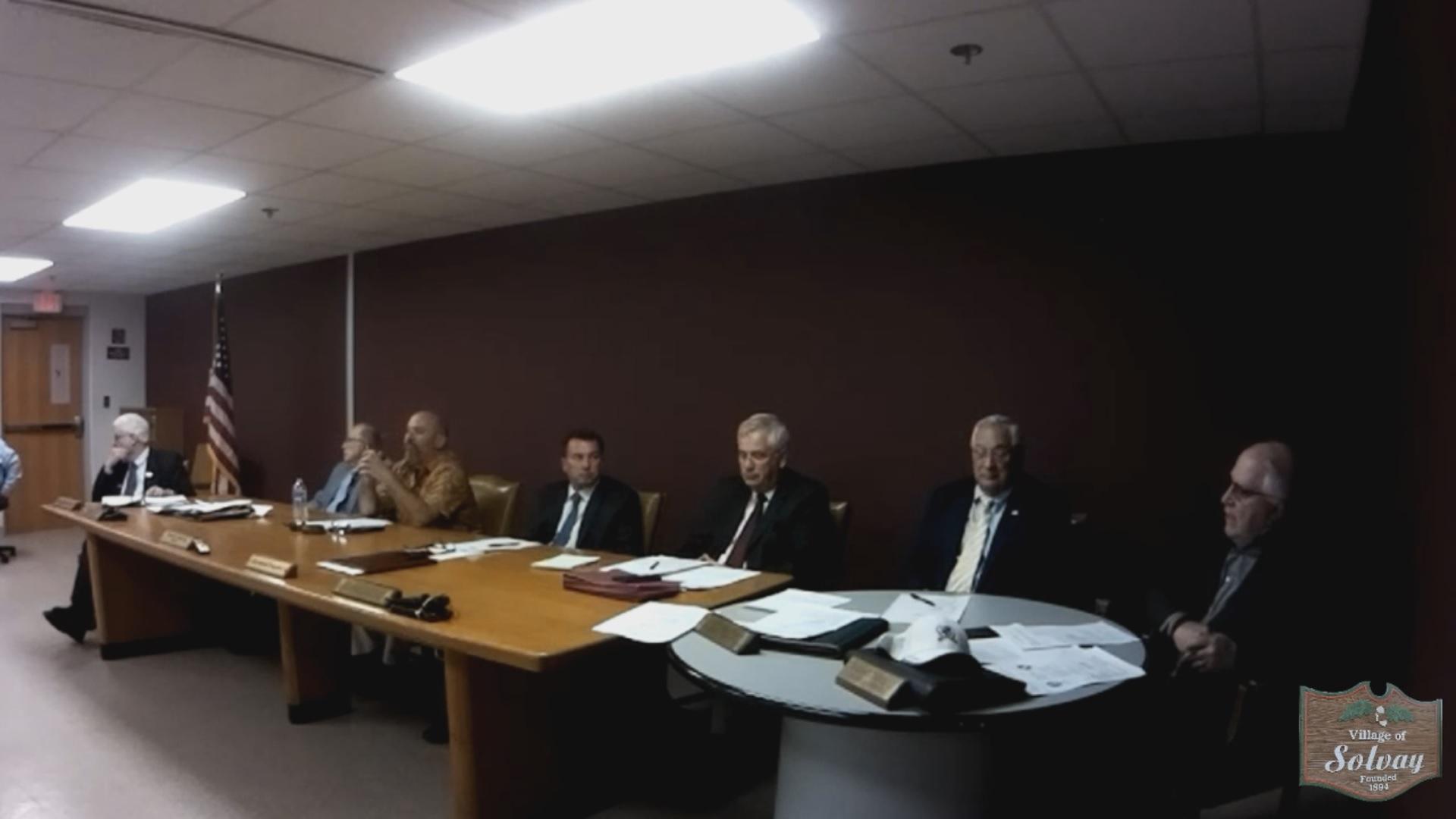 Village of Solvay Regular Board Meeting May 28th 2019