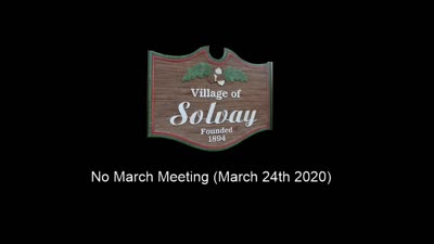 Regular Board Meeting - March 24th 2020
