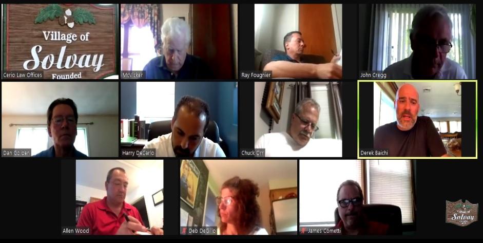 Regular Board Meeting - May 26th 2020 (viaZOOM)