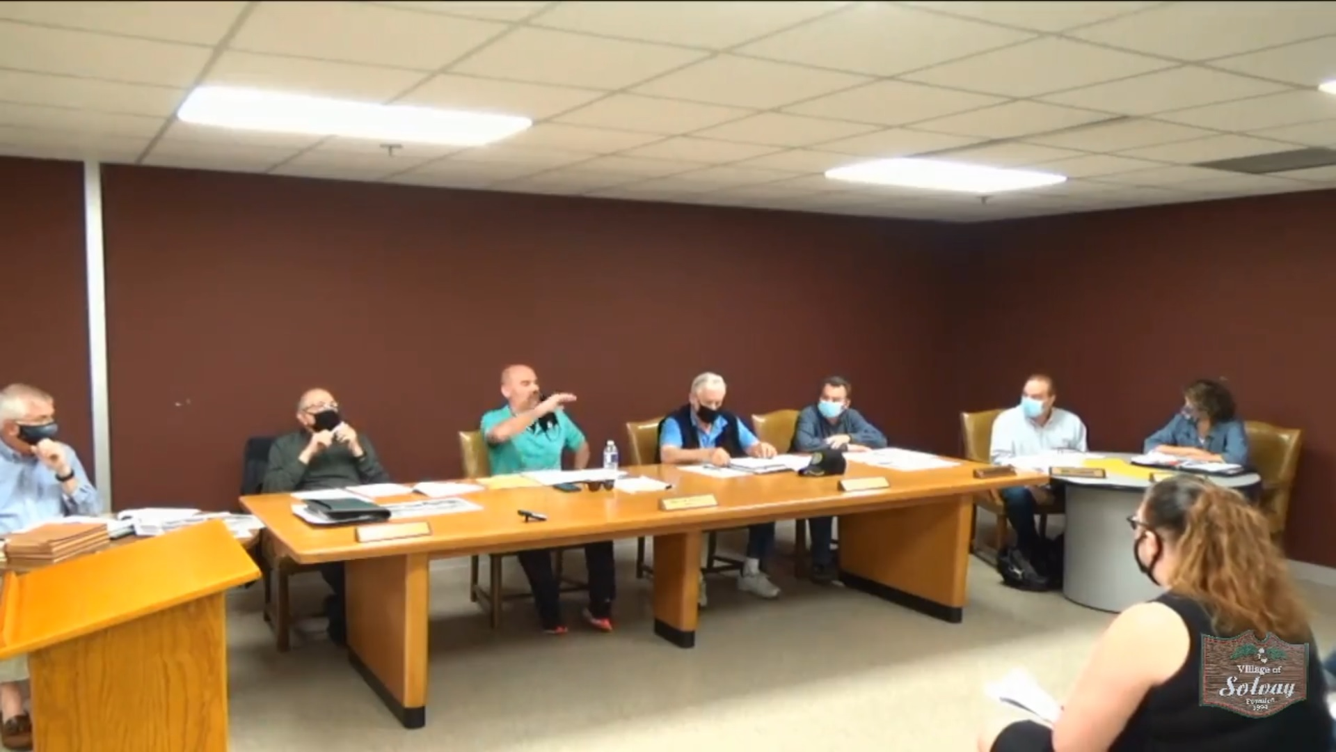 Village of Solvay Special/Budget Board Meeting April 13th 2021